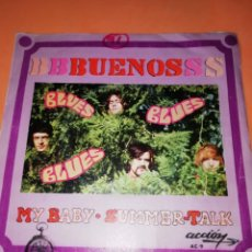 Discos de vinilo: LOS BUENOS / MY BABY / SUMMER TALK ACCION RECORDS 1969. Lote 182351055