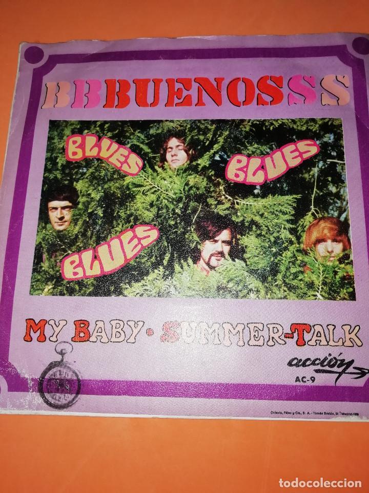 Discos de vinilo: LOS BUENOS / MY BABY / SUMMER TALK ACCION RECORDS 1969 - Foto 2 - 182351055