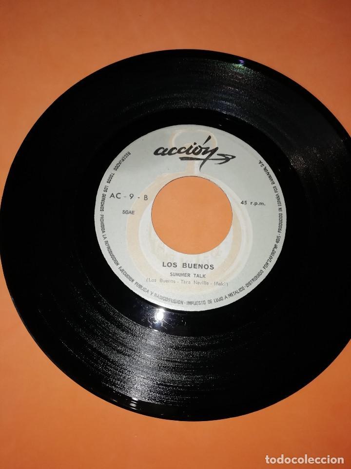 Discos de vinilo: LOS BUENOS / MY BABY / SUMMER TALK ACCION RECORDS 1969 - Foto 5 - 182351055