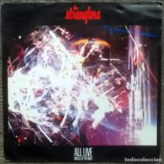 Discos de vinilo: THE STRANGLERS. ALL LIVE AND ALL OF THE NIGHT. EPIC, SPAIN 1987 LP. Lote 158154418