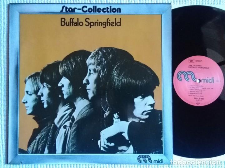 BUFFALO SPRINGFIELD - '' STAR-COLLECTION COMPILATION '' LP GERMANY 1972 (Música - Discos - LP Vinilo - Pop - Rock Extranjero de los 50 y 60)