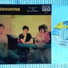 Discos de vinilo: DEERHUNTER - '' VOX CELESTE 5 / MICROCASTLE YELLOW 3 '' SINGLE 7'' USA 2009 LIMITED 1500 COPIAS. Lote 158156558