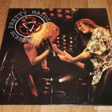 Discos de vinilo: PRETTY MAIDS 2 LP SCREAMIN..G/F COVER 1995-IRON MAIDEN-THE POODLES-AXXIS-BONFIRE-JUDAS PRIEST. Lote 179050991