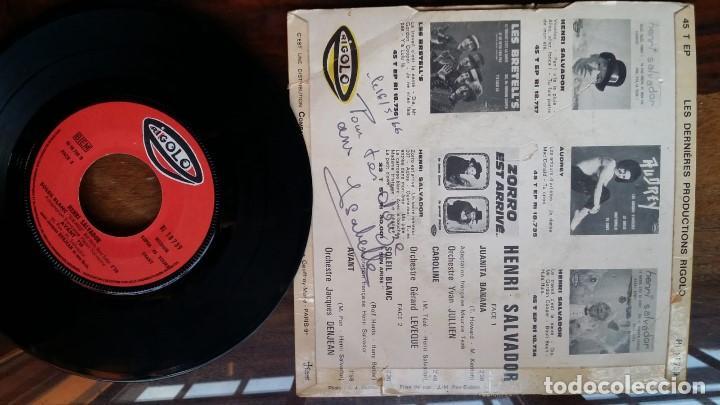 Discos de vinilo: henri salvador, juanita banana, caroline, soleil blanc, avant - Foto 2 - 158161546