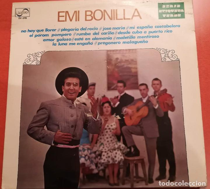 EMI BONILLA - NO HAY QUE LLORAR - 1972 ZAFIRO (Música - Discos - LP Vinilo - Flamenco, Canción española y Cuplé)