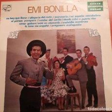 Discos de vinilo: EMI BONILLA - NO HAY QUE LLORAR - 1972 ZAFIRO. Lote 158167418