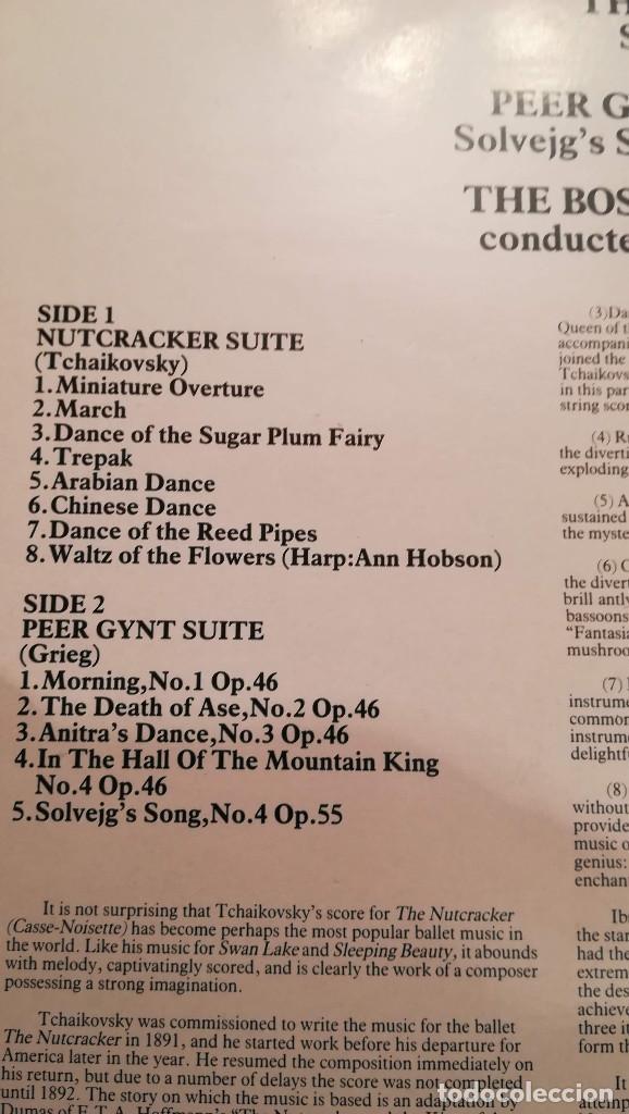 Discos de vinilo: ARTHUR FIEDLER AND THE BOSTON POPS - 1982 CONTOUR - Foto 2 - 158167970