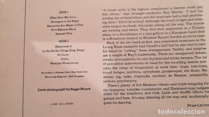 Discos de vinilo: THE TIJUANA SOUNDS OF THE LIVING BRASS - 1970 RCA - Foto 2 - 158168554