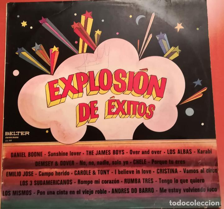 EXPLOSION DE EXITOS ( VARIOS ARTISTAS ) 1973 BELTER (Música - Discos - LP Vinilo - Grupos Españoles de los 70 y 80)