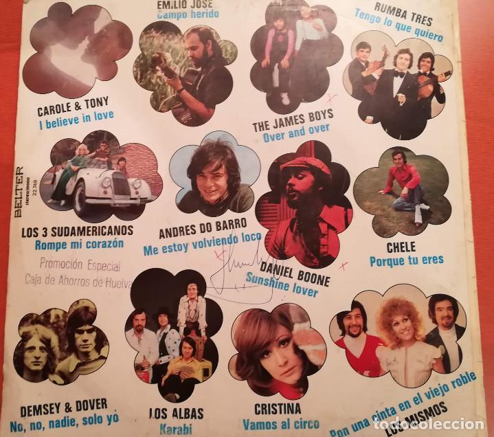 Discos de vinilo: EXPLOSION DE EXITOS ( VARIOS ARTISTAS ) 1973 BELTER - Foto 2 - 158168770