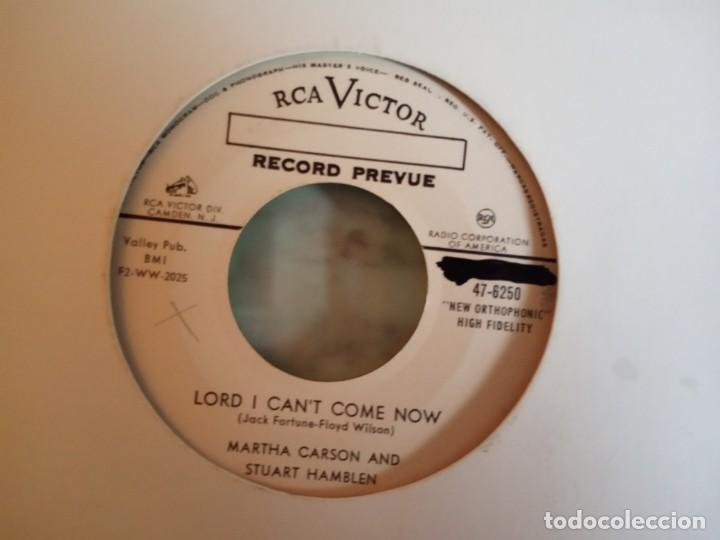 S HAMBLEN & M CARSON LORD I CAN'T COME NOW/I'VE GOT SO MANY MILLION YEARS COUNTRY ORIG. USA 1955 NM (Música - Discos - Singles Vinilo - Country y Folk)