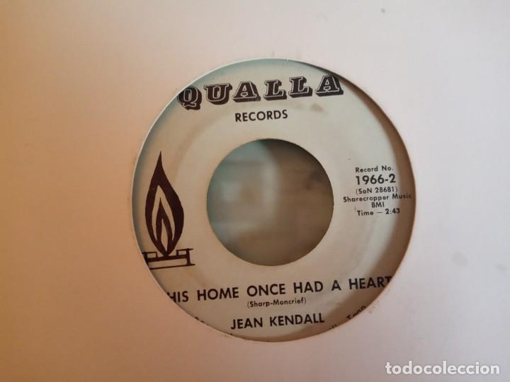 JEAN KENDALL SEWING STITCHES / THIS HOME ONCE HAD A HEART COUNTRY ORIGINAL USA 70'S RARO VG- (Música - Discos - Singles Vinilo - Country y Folk)