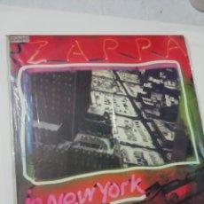 Discos de vinilo: FRANK ZAPPA LIVE IN NEW YORK. Lote 158183206