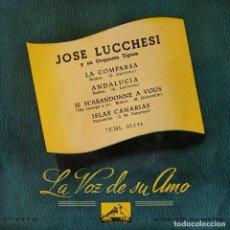 Discos de vinilo: JOSE LUCCHESI Y SU ORQUESTA TIPICA - RARO EP SPAIN LA VOZ DE SU AMO - EN ESTADO COMO NUEVO. Lote 158193282