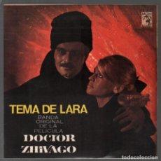 Disques de vinyle: DOCTOR ZHIVAGO - TEMA DE LARA - YURI HUYE..EP MGM DE 1966 RF-3844, PERFECTO ESTADO. Lote 158198102