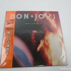 Discos de vinilo: VINILO EDICIÓN JAPONESA DEL LP DE BON JOVI - 7800º FAHRENHEIT. Lote 158204482