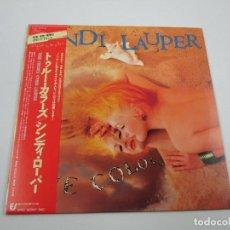Discos de vinilo: VINILO EDICIÓN JAPONESA DEL LP DE CINDY LAUPER - TRUE COLORS. Lote 158204930