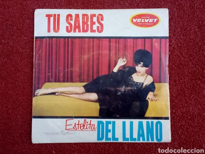 ESTELITA DEL LLANO TÚ SABES EP 1963 (Música - Discos de Vinilo - EPs - Grupos y Solistas de latinoamérica)