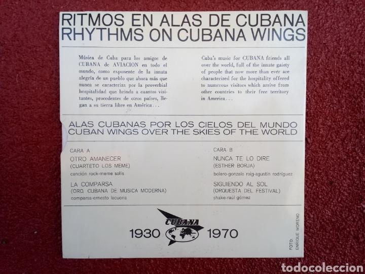 Discos de vinilo: Ritmos en Alas de Cubana EP 1970 - Foto 2 - 158213924