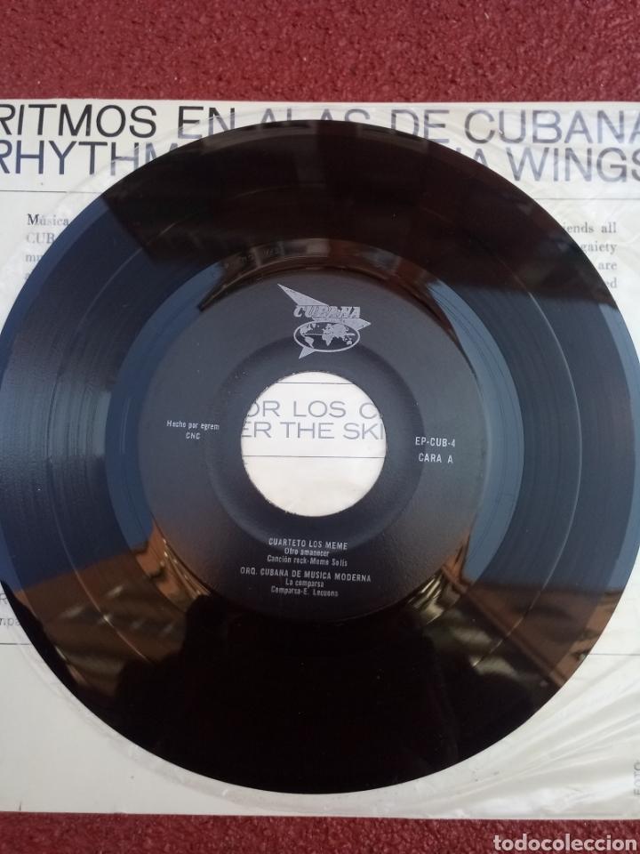 Discos de vinilo: Ritmos en Alas de Cubana EP 1970 - Foto 3 - 158213924