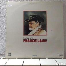 Discos de vinilo: THE WORLD OF FRANKIE LAINE . Lote 158214974