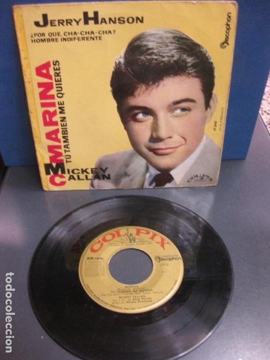 JERRY HANSON. ¿ POR QUE CHA-CHA-CHA ? . HOMBRE INDIFERENTE. DISCOPHON 17.040. 1960. (Música - Discos de Vinilo - EPs - Pop - Rock Internacional de los 50 y 60)