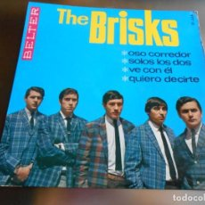 Discos de vinilo: BRISKS, THE, EP, OSO CORREDOR + 3, AÑO 1966. Lote 158239418