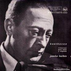 Discos de vinilo: JASCHA HEIFETZ - BEETHOVEN ROMANZAS PARA VIOLIN Y ORQUESTA SINGLE 1969 SPAIN . Lote 158255850