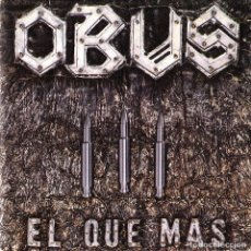 Discos de vinilo: OBUS - EL QUE MAS + DA IGUAL SINGLE SPAIN 1984. Lote 158255978