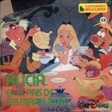 Discos de vinilo: CUENTODISCO BRUGUERA Nº 12 ALICIA EN EL PAIS DE LAS MARAVILLAS (EP PRECINTADO). Lote 158256822