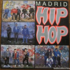 Discos de vinilo: MADRID HIP HOP LP. Lote 158265946