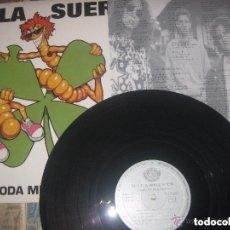 Discos de vinilo: MALA SUERTE TODA MI FORTUNA +ENCARTE(FONOGRAFICA -1993) OG ESPAÑA ROCK ASTUR. Lote 158289426