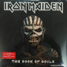 Discos de vinilo: IRON MAIDEN -THE BOOK OF SOULS -LIMITED EDITION- TRIPLE LP (NUEVO, PRECINTADO, SIN ABRIR) . Lote 158293150