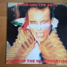 Discos de vinilo: ADAM AND THE ANTS: KINGS OF THE WILD FRONTIER. Lote 158298998