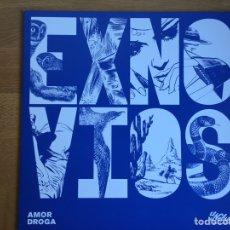 Discos de vinilo: EXNOVIOS: AMOR DROGA. Lote 158299520