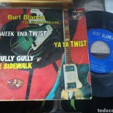 Discos de vinilo: BURT BLANCA EP HULLY GULLY + 3 ESPAÑA 1963. Lote 158308616