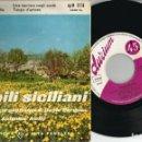 Discos de vinilo: SINGLES BALLABILI SICILIANI FABRICADO EN ITALIA . Lote 158312794