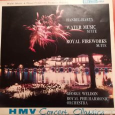 Discos de vinilo: GEORGE WELDON - WATER MUSIC - 1976 LA VOZ DE SU AMO. Lote 158317690