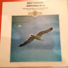 Discos de vinilo: BEETHOVEN - SINFONIA N 3 - 1982 DOBLON. Lote 158318238