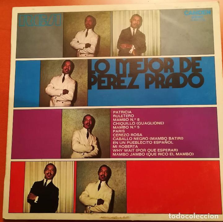 PEREZ PRADO - ESPECTACULAR - 1973 RCA (Música - Discos - LP Vinilo - Grupos y Solistas de latinoamérica)