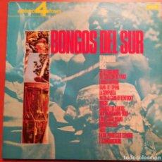 Discos de vinilo: EDMUNDO ROS Y SU ORQUESTA - BONGOS DEL SUR - 1974 DECCA. Lote 158321626