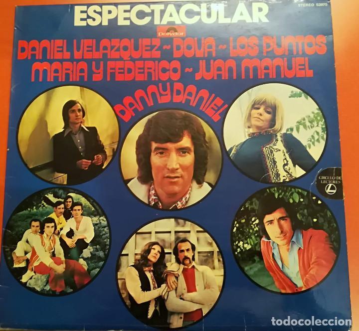 ESPECTACULAR - VARIOS ARTISTAS - 1974 POLYDOR (Música - Discos - LP Vinilo - Grupos Españoles de los 70 y 80)