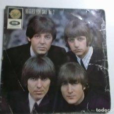 Discos de vinilo: THE BEATLES FOR SALE N 2 MONO GEP 8938. Lote 158322206