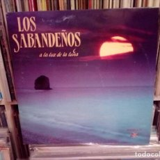 Disques de vinyle: LOS SABANDEÑOS - A LA LUZ DE LA LUNA (DOBLE LP). Lote 158335066