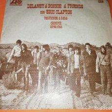 Discos de vinilo: DELANEY & BONNIE & FRIENDS CON ERIC CLAPTON - VOLVIENDO A CASA / GROUPIE SUPERSTARS ·AÑO 1970. Lote 158366586