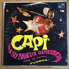 Discos de vinilo: CAPI Y SU NUEVA GENERACION LP V/A LOS BUENOS GROOVY WOOVY, VENEZUELA. Lote 158373142