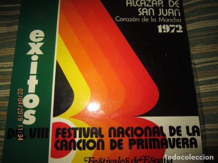 VII FESTIVAL NACIONAL DE LA CANCION DE PRIMAVERA EP - ORIGINAL ESPAÑOL 1974 PROMOCIONAL - (Música - Discos de Vinilo - EPs - Otros Festivales de la Canción)
