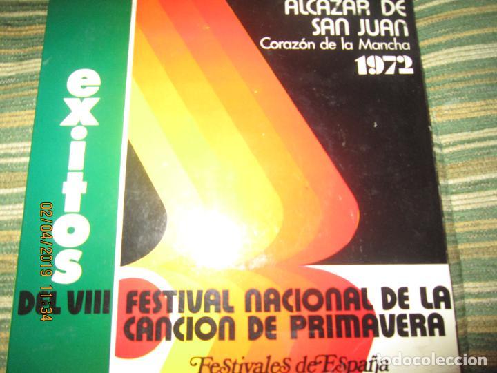 Discos de vinilo: VII FESTIVAL NACIONAL DE LA CANCION DE PRIMAVERA EP - ORIGINAL ESPAÑOL 1974 PROMOCIONAL - - Foto 5 - 158391938