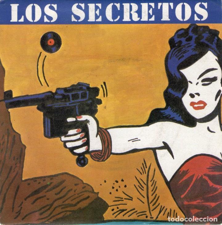 SINGLE - LOS SECRETOS - NO ME IMAGINO - POLYDOR - AÑO 1983. (Música - Discos - Singles Vinilo - Grupos Españoles de los 70 y 80)