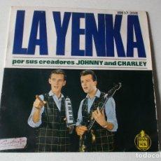 Discos de vinilo: LA YENKA POS SUS CREADORES JOHNNY AND CHARLEY-LA YENKA,EH! NENA, ...EP HISPAVOX RF-1474. Lote 213901406